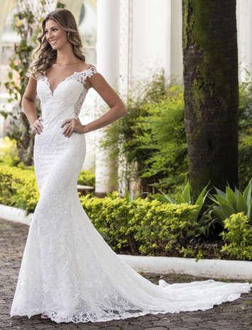 Vestido de Noiva Exclusivo Nova Lucius 08