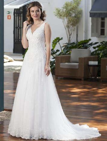Vestido de Noiva Exclusivo Nova Lucius 11