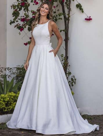 Vestido de Noiva Exclusivo Nova Lucius 16