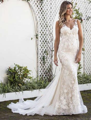 Vestido de Noiva Exclusivo Nova Lucius 17