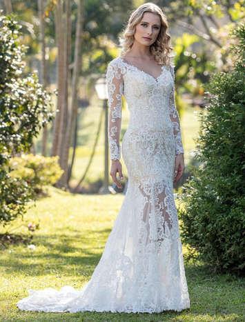 Vestido de Noiva Exclusivo Nova Lucius 18