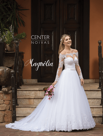 Vestido de Noiva Princesa Magnólia 04