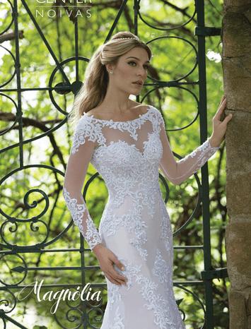Vestido de Noiva Sereia Magnólia 09