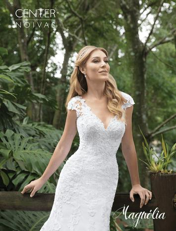Vestido de Noiva Sereia Magnólia 22
