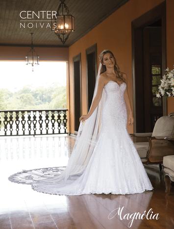 Vestido de Noiva Tomara que caia Magnólia 23