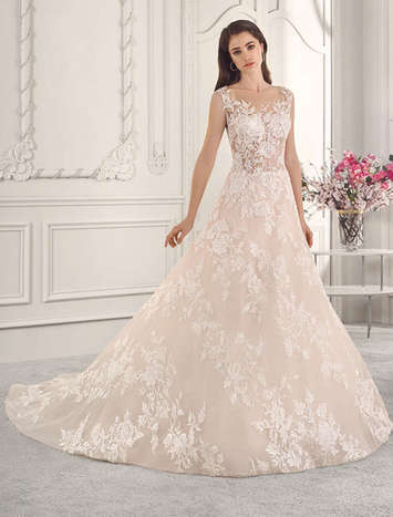 Vestido de Noiva Demetrios 815