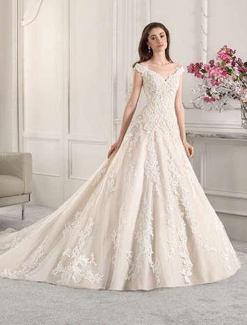 Vestido de Noiva Demetrios 845