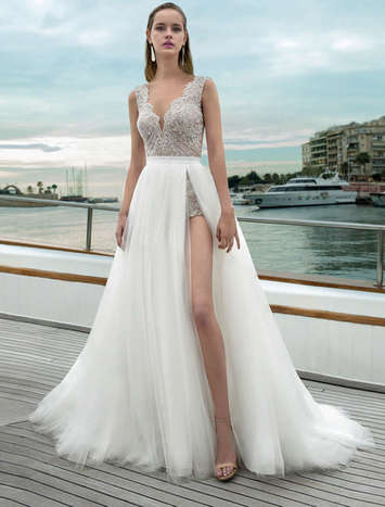 Vestido de Noiva Demetrios 281