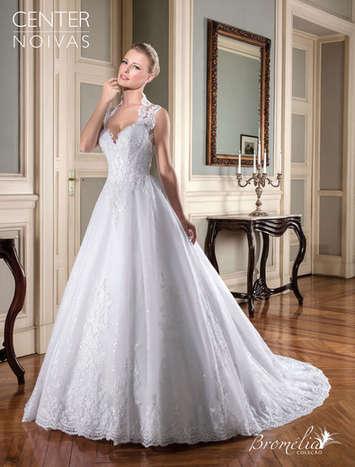 Vestido de Noiva Bromélia 11