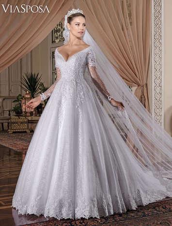 Vestido de Noiva Casablanca 27