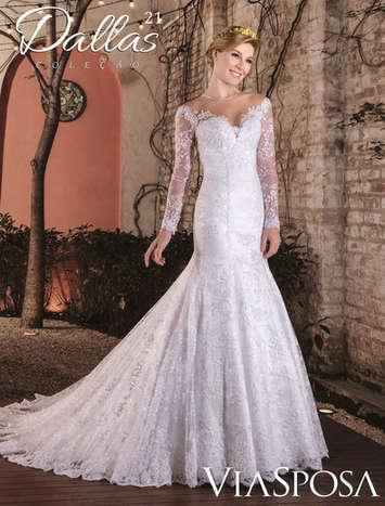 Vestido de Noiva Dallas 21