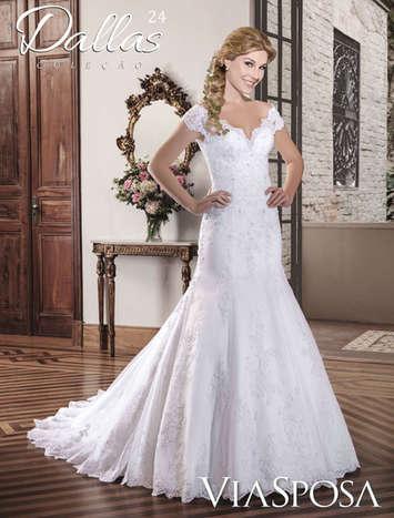 Vestido de Noiva Dallas 24