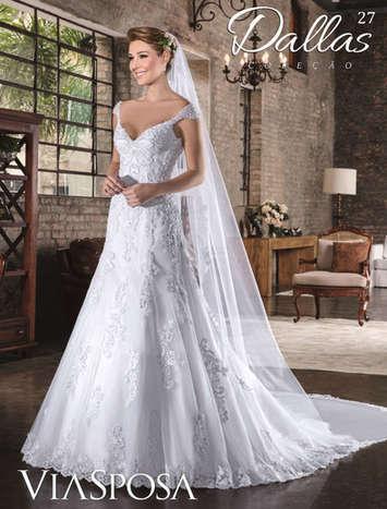 Vestido de Noiva Dallas 27
