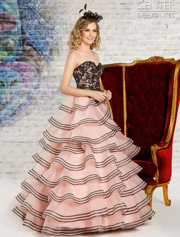 Vestido de Debutante London Street 02