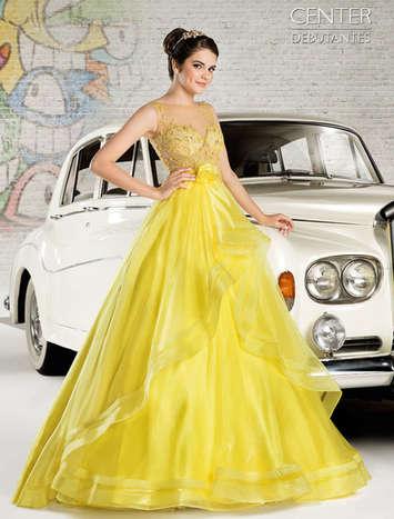 Vestido de Debutante London Street 15
