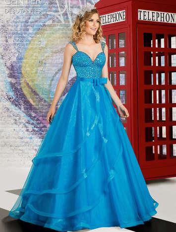 Vestido de Debutante London Street 16