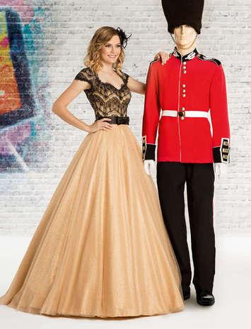Vestido de Debutante London Street 19