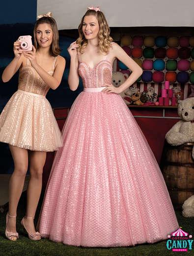 Vestido de Debutante Cotton Candy 02