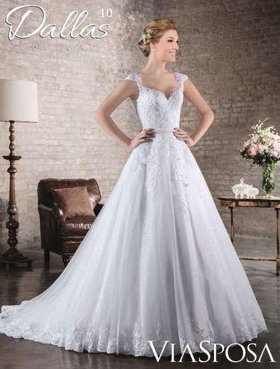 Vestido de Noiva Dallas 10